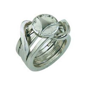Γρίφος Cast Silver Ring ΙΙ