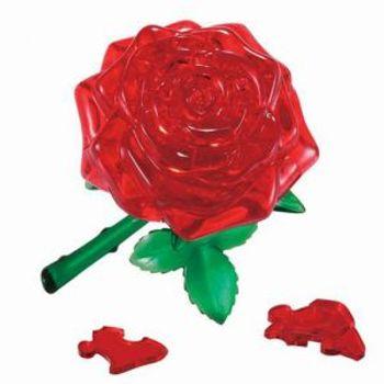 3D Παζλ Τριαντάφυλλο Κόκκινο