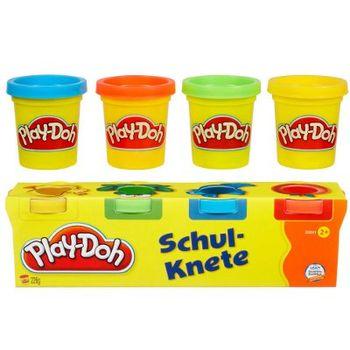 4 Mini Βαζάκια Play-Doh