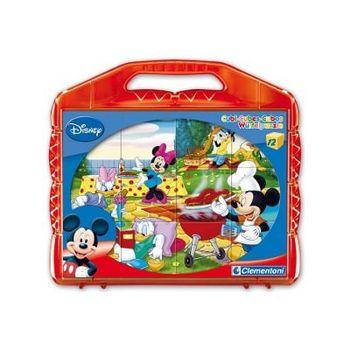Παζλ Disney Mickey Super Color Disney (12 Κύβοι)