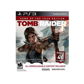 Tomb Raider – Game of the Year Edition – PS3 Game
