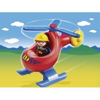 PLAYMOBIL 6789 Πυροσβεστικό Ελικόπτερο