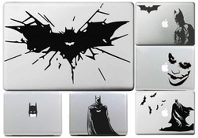 Wire Bat for Batman Decal for Macbook Sticker Air 11 13 Pro 13 15 17 Retina Computer Car Wall Skin Laptop Vinyl Stickers Compare Prices