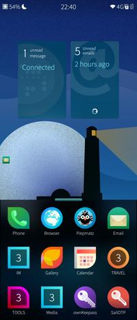 Premier coup d'œil à SailfishOS 4.2.0 (Verla)