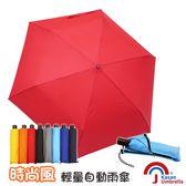 [Kasan] 時尚風輕量自動雨傘-大紅