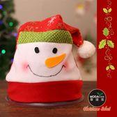 【摩達客】耶誕派對-可愛雪人雪花帽