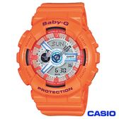 CASIO卡西歐 Baby-G個性甜心立體多層次雙顯腕錶 BA-110SN-4A