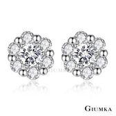 【GIUMKA】925純銀 盛夏年代耳釘耳環 MFS06037(銀色)