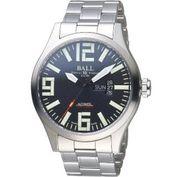 【BALL 波爾】Engineer Master II Aviator機械腕錶(NM1080C-S14A-BK)