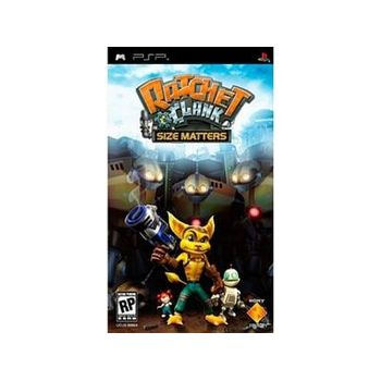 Ratchet and Clank Size Matters – PSP Game