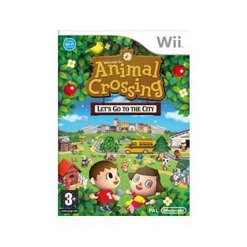 Nintendo Selects Animal Crossing Let's Go to The City – Wii Game