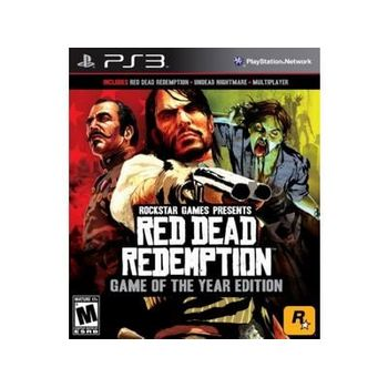 Red Dead Redemption: Game Of The Year Edition – PS3 Game