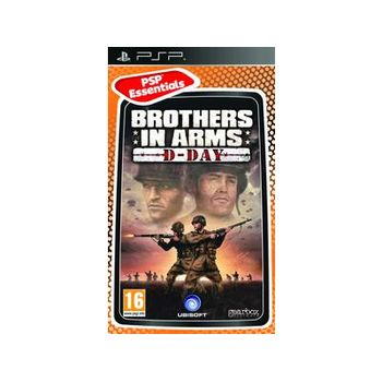 Brothers in Arms D-Day Essentials – PSP Game