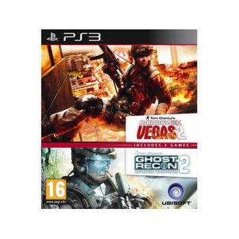 Ghost Recon Advanced Warfighter 2 & Rainbow Six Vegas 2 – PS3 Game