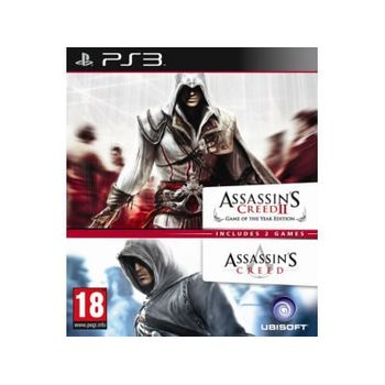 Assassin's Creed 1 & Assassin's Creed 2 – PS3 Game