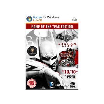 Batman: Arkham City GOTY – PC Game