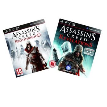 Assassin's Creed: Brotherhood & Assassin's Creed: Revelations – PS3 Game