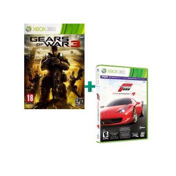 Forza Motorsport 4 & Gears of War 3 – Xbox 360