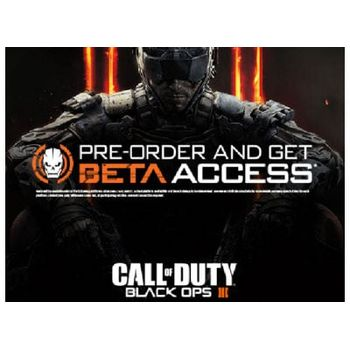 PS4 Game – Call of Duty: Black Ops III *Pre-order Beta Access*