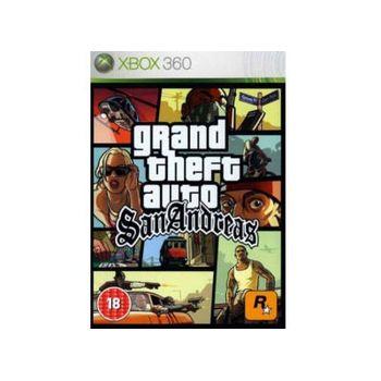 Grand Theft Auto San Andreas – Xbox 360 Game