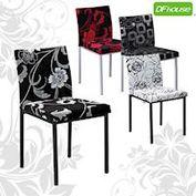 《DFhouse》伯爵餐椅/洽談椅*四色可選*- 餐椅 咖啡椅 旅館椅 簡餐椅 洽談椅 會客椅