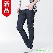 bossini男裝-修身牛仔長褲02海軍藍