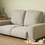 【YKS】日安和風雙人座獨立筒布沙發(3色)