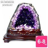 【SUMMER寶石】《6-8公斤》巴西天然紫晶洞(隨機出貨)