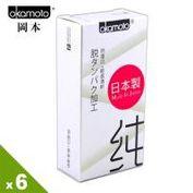 【保險套世界精選】岡本.City - Natural 清純型保險套(10入X6盒)