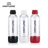 美國iSODA 氣泡水機1L專用水瓶(三色可選)