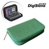 DigiStone 22片裝多功能記憶卡收納包(18SD+4CF)-綠X1P【防震/防潑水】【EVA防靜電材質】