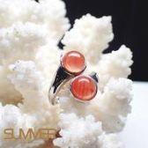 SUMMER寶石  天然《南紅瑪瑙》設計款戒指 (P8-04)
