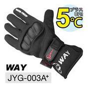 WAY JYG-003A+ 防摔、透氣、保暖、防風、防滑、防水、耐寒手套多用途合一