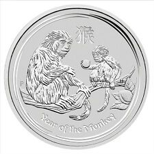 Promo Offer 2016 Australia Lunar Year of Monkey 1 oz 999 Silver Bullion Coin
