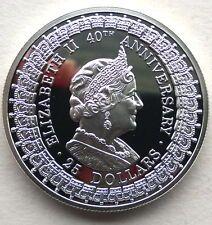 Australia 1992 Queen Mother 25 Dollars 1oz Silver CoinProof Under 50