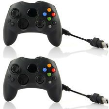Best Reviews 2x Black Wired Game Controller GamePad Joypad Joystick for Microsoft XBOX S Type