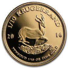 Affordable 2016 South Africa 110 oz Proof Gold Krugerrand  SKU 97944