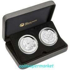 Cheapest 2016 50th Anniversary of Australia Decimal Currency 1oz Silver Proof TwoCoin Online