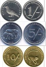 Buy Somaliland 1  5  10 Shillings 3 Uncirculated Coin Set with Credit Card