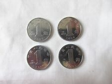 Buy Set of 4 PRC China Coins 1 Yi Jiao Circulated Online