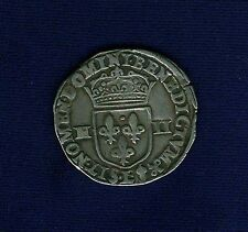FRANCE  HENRY IV  1601  14 ECU  SILVER COIN VFXF Best Price