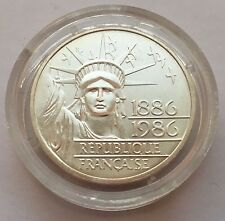 Affordable New listing   1986 FRANCE 100 FRANCS SILVER PROOF STATUE OF LIBERTY COIN