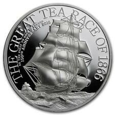 Buy Cook 2016 10 The Great Tea Race 2 Oz Silver Proof Coin Online