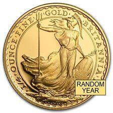Great Britain 14 oz Gold Britannia BUProof Random Year  SKU 49771 Under 50
