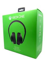 Bargain New Microsoft Xbox One Stereo Black Gaming Headband Headsets Mic  Adapter