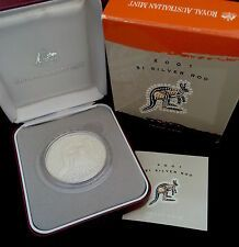 New listing   2001 1 oz Silver Australian Kangaroo Proof Coin Bullion Australia for Sale