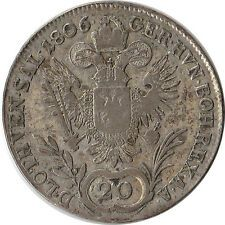 1806 A Austria 20 Kreuzer Silver Coin Franz II KM2140 for Sale Online