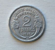 Price Compare 1941 2 FRANCS FRANCE COIN KM886a1