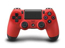 SALE BRAND NEW SONY DUALSHOCK 4 RED PS4 WIRELESS CONTROLLER SEALED UPC INTACT