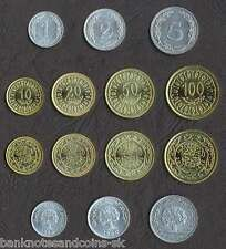 Price Compare TUNISIA COMPLETE FULL COIN SET 125102050100 Millim 19602007 UNC LOT 7